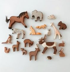 Each of our figurines is thoroughly crafted by hand and each step of cutting, sa… – Karin Gloeckner Dekor Tagebuch Toddler Toys, Baby Toys, Wood Animal, Natural Toys, Wishes For Baby, Montessori Toys, Kids Corner, Wood Toys, Handmade Toys