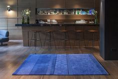 """""""Jie"""" is the first rug collection designed by the Shanghai-based architects Neri & Hu manufactured by nanimarquina.The result is a hand-tufted rug presenting different pile heights and finishes, made of 100% new wool."""