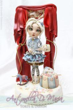 Nostalgic Carnival Doll - Cake by Antonella Di Maria