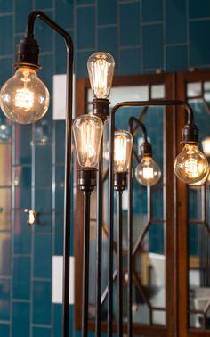 Restaurant and Bar Design Awards - GBK Notting Hill - Moreno Masey Architecture Studio Interior Lighting, Home Lighting, Decor Interior Design, Lighting Design, Bar Design Awards, Restaurant Design, Restaurant Bar, Lampe Spot, Hotel Concept