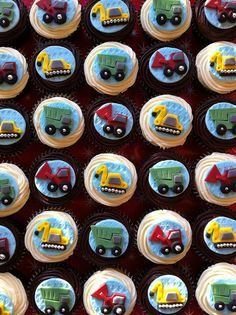 #construction cupcakes by *sugar ribbons* - Susara, via Flickr