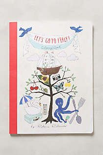 Anthropologie - Let's Go To Italy Coloring Book