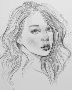 How to Draw, Shade Realistic Eyes, Nose and Lips with Graphite Pencils - Drawing On Demand Cool Sketches, Drawing Sketches, Photo Tag, Tree Drawings Pencil, Face Sketch, Portrait Sketches, Drawing People, Face Art, Art Tutorials