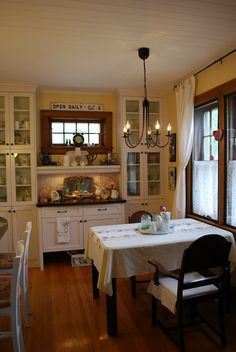 Cabinet inspiration for dining room.
