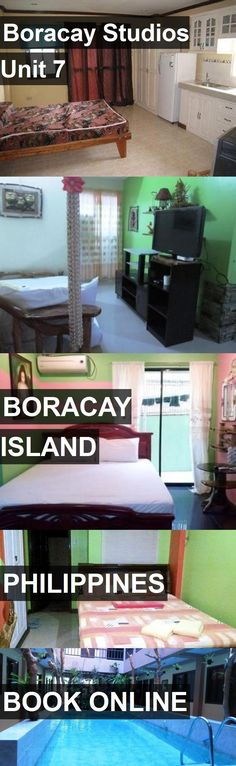 Hotel Boracay Studios Unit 7 in Boracay Island, Philippines. For more information, photos, reviews and best prices please follow the link. #Philippines #BoracayIsland #BoracayStudiosUnit7 #hotel #travel #vacation