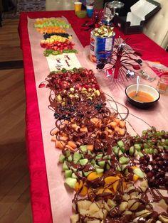 Table De Fondue Au Chocolat