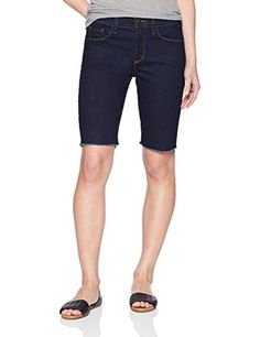 NYDJ Womens Petite Briella Short Fray Hem Rinse ** Read more at the image link. (This is an affiliate link) Spring Shorts, Women's Shorts, Headpiece, Bermuda Shorts, Image Link, Fashion Accessories, Clothing, Style, Outfits
