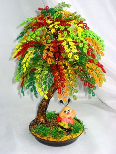 1 million+ Stunning Free Images to Use Anywhere Seed Bead Flowers, French Beaded Flowers, Wire Flowers, Seed Bead Crafts, Wire Crafts, Diy And Crafts, Copper Wire Art, Wire Tree Sculpture, Crystal Tree