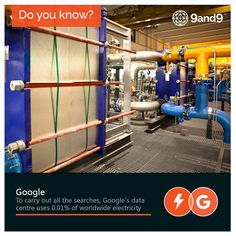 #DidYouKnow that 0.01% of the worldwide #electricity is consumed for the each #search you make in #Google! - #Internet #Facts #SearchEngine