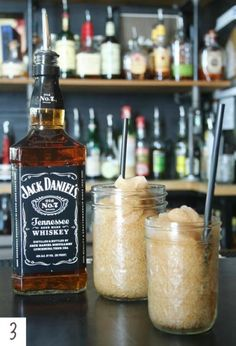 Jack Daniel Slushies from Victory Sandwich shop in Atlanta