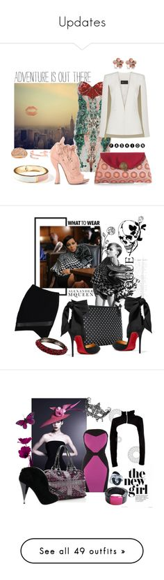 """Updates"" by bettyboopbbw69 ❤ liked on Polyvore featuring Old Navy, Brian Reyes, Bulgari, AND 1, BCBGMAXAZRIA, Allurez, Kenneth Jay Lane, Boohoo, Alexander McQueen and Christian Louboutin"