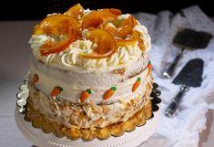 Tarta de zanahoria, naranja y coco. - La Cocina de Frabisa La Cocina de Frabisa Baked Goods, Delicious Desserts, Fondant, Deserts, Good Food, Food Porn, Goodies, Food And Drink, Cooking Recipes