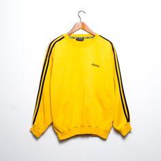 Pull Adidas jaune moutarde So beautiful<3