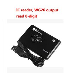 10.00$  Buy here - http://aliwl0.shopchina.info/go.php?t=32812327024 - Free shipping , USB desk-top reader,RFID  IC card reader,13.56M,S50,Read 8-digit,wg26 output,sn:06C-MF-8, min:1pcs 10.00$ #buyonlinewebsite