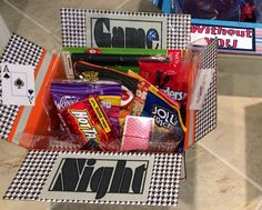 Items similar to Game Night Theme on Etsy Deployment Care Packages, Deployment Gifts, Army Gifts, Military Gifts, Usmc Emblem, Lighted Glass Blocks, Thin Blue Line Flag, Fall Pumpkins, Adhesive Vinyl
