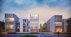 217 logements collectifs & proposition urbaine   Marjan Hessamfar & Joe Vérons architectes associés