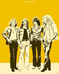 led zeppelin...I want a print of this hanging in my house!