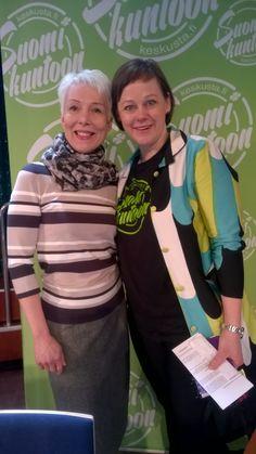 Paula Lehtomäen kanssa, Suomi- Venäjä keskustelua