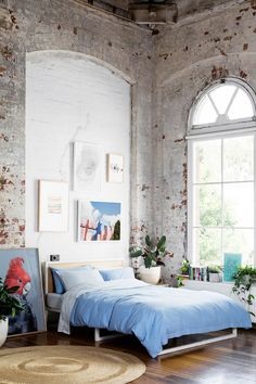 Exposed brick is practically synonymous with urban loft spaces, giving many a loft bedroom and living room some distressed, well-worn texture in spades. The more inconsistencies in chipped paint...
