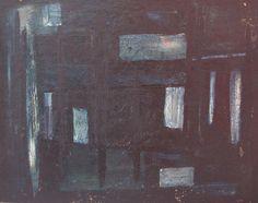 "Jonio Montiel ""Abstracto"" Óleo sobre fibra 48 X 60 cms.  http://www.portondesanpedro.com/ver-producto.php?id=11245"