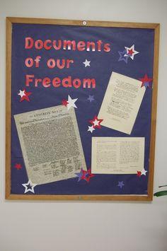 fourth of july bulletin board ideas for preschool