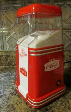 Nostalgia Electrics Coca-Cola Series Mini Hot Air Popcorn Maker Giveaway