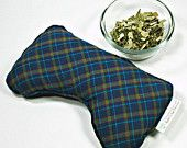 Great Christmas gift! Men's gift, husband gift, sinus relief eucalyptus, peppermint and flax seed eye pillow,  Aromatherapy eye pillow, flax eye pillow, flax heating pad, microwave eye pillow, acupressure