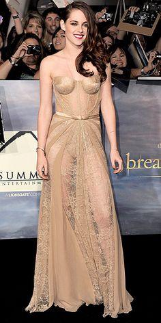 Kristen Stewart. Love this Zuhair Murad gown.