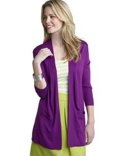 lime green and purple - unexpected combination