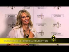Deborah Mitchell Heaven Health & Beauty Ltd wins at the 2013 Stevie Awards for Women in Business