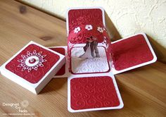 Nelasbasteleien: Hochzeitsbox