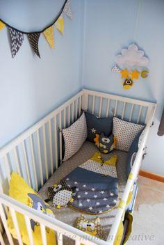 Our own babyroom byrenske chambre b b d coration nursery gar on fille baby bedroom boys girls for Deco kamer baby boy idee