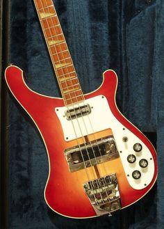 1973 Rickenbacker 4001 Fireglo