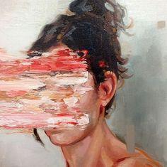 Cesar Biojo is doing some art defacing paintings. See more here. Cesar Biojo is doing some ar Aesthetic Painting, Aesthetic Art, Inspiration Art, Art Inspo, Cesar Biojo, Paintings Tumblr, Kunst Online, Art Diy, Guache