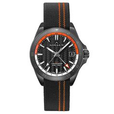 Norqain - Adventure NEVEREST GMT | Time and Watches | The watch blog Watch Blog, All Black Looks, 316l Stainless Steel, Sport Watches, Black Rubber, Royal Blue, Adventure, Adventure Movies, Adventure Books