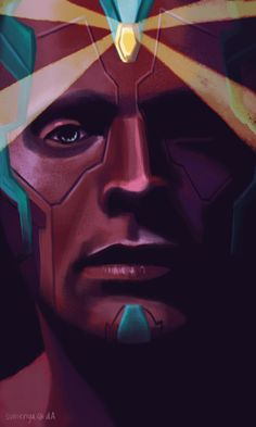 Ooh! Alright, this is really well done! However, I am quite biased on the subject matter; Vision fanart ^u^
