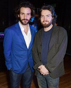 Santiago Cabrera and Tom Burke