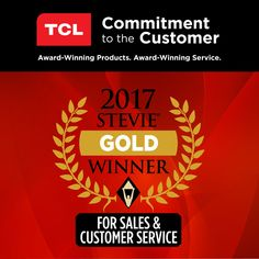 "TCL USA on Twitter: ""We are proud to announce that we have been recognized for excellence in customer service by @thestevieawards https://t.co/bW4W9KKt43 https://t.co/HqjClY4k5O"""