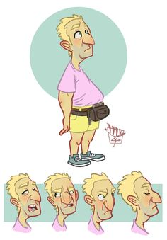 Fanny Packs Are Hip by LuigiL.deviantart.com on @DeviantArt Old Person, Guy Drawing, Whiteboard, Character Illustration, Fanny Pack, Character Design, Bangles, Packing, Graphics