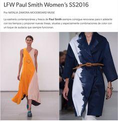 #LFW Mi review del desfile Paul Smith Women's #SS2016 en mi blog MoodboardMuse.