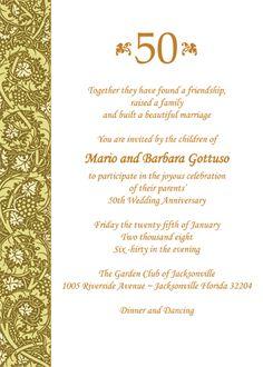 fd965b6e9061f618076045f8b7ddd3f9 th anniversary invitations th wedding anniversary 50th wedding anniversary program wording scene 50th wedding,50 Year Wedding Anniversary Invitation Wording