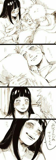 NaruHina is love Naruto Uzumaki, Anime Naruto, Naruto Comic, Hinata Hyuga, Himawari Boruto, Narusaku, Naruto Cute, Naruto And Sasuke, Gaara