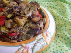 Easy To Be Gluten Free | Roasted Italian Vegetables