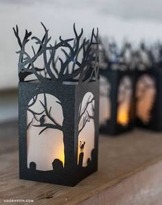 Image result for homemade lanterns made from milk cartons