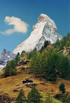 The Matterhorn in the Alps, Switzerland   by Katarina 2353