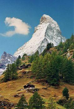 The Matterhorn in the Alps, Switzerland | by Katarina 2353