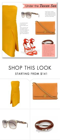 """Under the Tuscan Sun"" by snobswap on Polyvore featuring Reed Krakoff, Chanel, Tom Ford, Hermès and Prada"