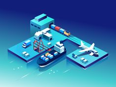 One of the explorations for a supply chain management platform that connects sea, air, road and rail freights management seamlessly. This will potentially become the face of the web/ mobile experie...