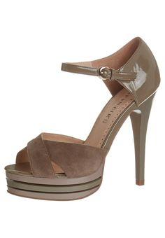 CAFèNOIR - High Heel Sandalette - taupe brown