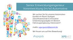 #xpsjob #glas #automotive #entwicklung #Ingenieur #job #stellenangebot